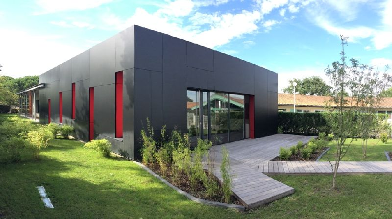 Société beceb une entreprise de revêtement de façade en bardage